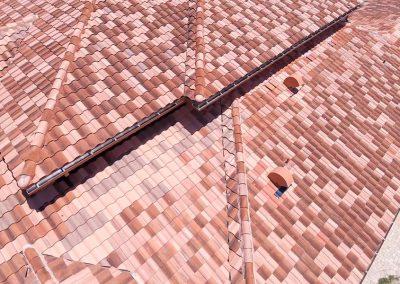 Concrete Tile Close Up