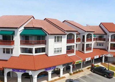 Tile Roof Under Construction Condominiums