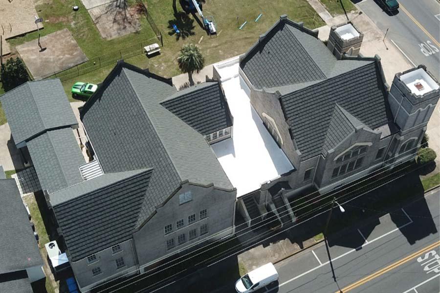 Tile Church Roof