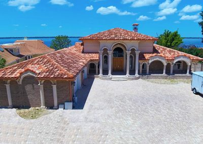Concrete Tile Roof on House