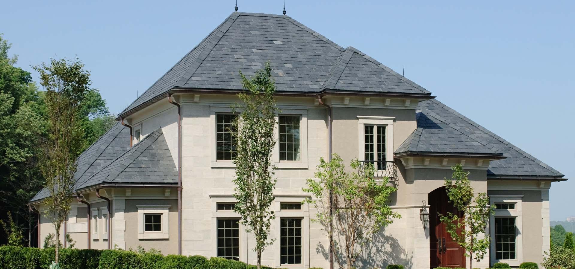 Estate Slate Roof